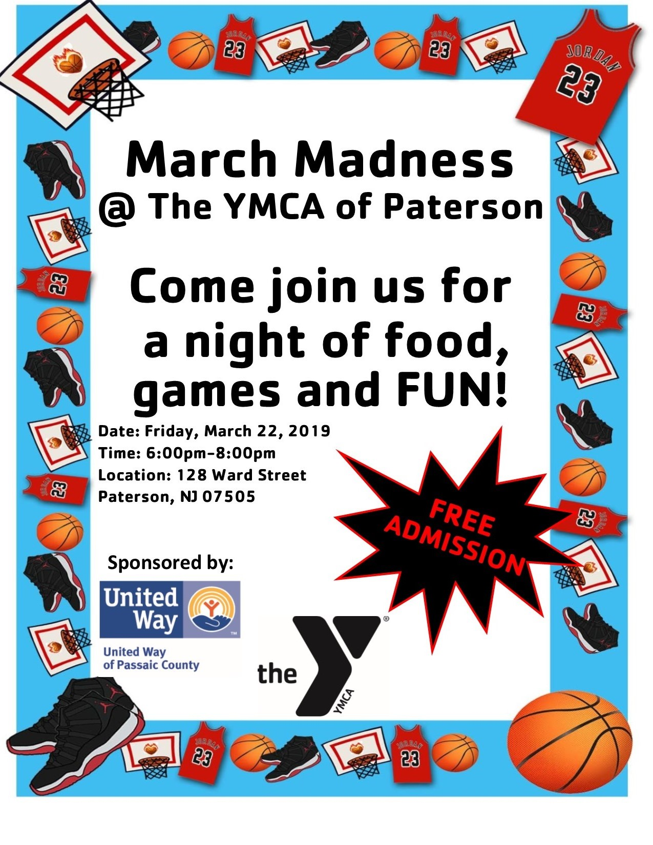 New YMCA Event March 22nd!!!!